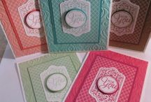 Cards - Stampin Up Chalk Talk