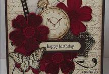 Cards - Stampin Up Flower Shop