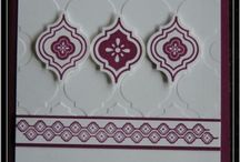 Cards - Stampin Up Mosaic Madness
