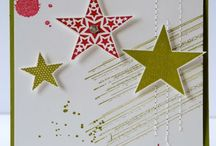 Cards - Stampin Up Simply Stars