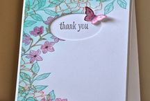 Cards - Stampin Up Peaceful Petals