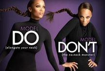 Strike a Pose / How to look like a model in photos, poses ideals for fabulous photography.