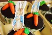 Peter Rabbit Party Ideas / Looking for Peter Rabbit part ideas? Check out these super cute 1st birthday party based on the Beatrix Potter classic, The Tale of Peter Rabbi - they'll work perfectly for any occasion...
