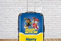 Personalised Children's Suitcases / Our Personalised Children's Suitcases will guarantee your kids travel in style! Buy today >> ijustloveit.co.uk/personalised-childrens-suitcases/