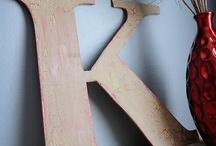 Wood/Letter Ideas / by Kristin Davidson