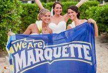 Marquette Weddings / Did you fall in love at Marquette? Tell us your story in a Class Note http://go.mu.edu/muclassnote  / by Marquette University