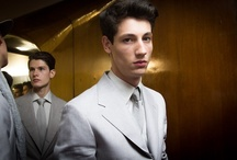 My Men Fashion Weeks /  casting, fitting, backstage, street style, off duty by Sara Cimino / by Sara Cimino