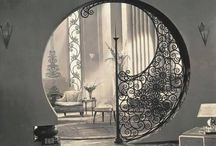 Crossover Interiors / Interiors that are not of a specific category: Modern, Boheme, Industrial, Rustic, Gothic Funk, brought together into a glorious setting. / by Peter Willis
