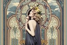 Artist - Alphonse Maria Mucha / **Add proper titles and dates to artwork. -CAB / by Cindy Briedis
