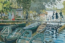 Artist - Claude Monet / **Add proper titles and dates to artwork. -CAB / by Cindy Briedis