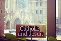 Catholic and Jesuit / Celebrating Marquette University's Catholic and Jesuit heritage. Learn more at http://marquette.edu/faith / by Marquette University