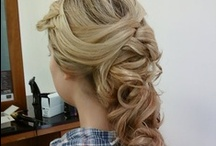Bridal Styles by Michelle Arenas / Senior Stylist Michelle Arenas shows her romantic side when creating these beautiful, cascading styles for any gal's big day! / by Donato Salon + Spa