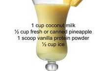 Drinks (healthy & blended)