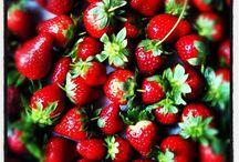 Strawberries / by Rosalyn Garlington Gulley
