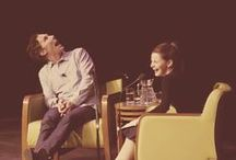 Fascinating People / (But mostly just Benedict and Tom...oops)
