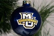 Blue and Gold Christmas / Ideas for adding a touch of Marquette to your holiday celebrations.
