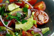 Salads  / by Rosalyn Garlington Gulley