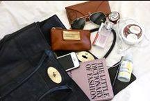 Mrs Thomas Lyte - Inside My Eliza / The Eliza bag is Mrs Thomas Lyte's wardrobe staple. See what she keeps inside it / by Thomas Lyte