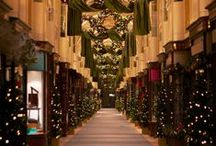Mrs Thomas Lyte - London at Christmastime / Mrs Thomas Lyte loves London at Christmas and simply cannot resist the beauty of the lights and shop windows and making her Christmas Wish List while shopping for presents for her friends and family / by Thomas Lyte