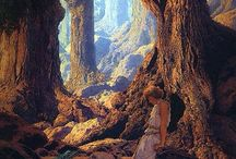 Artist - Maxfield Parrish / by Cindy Briedis