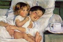 Artist - Mary Cassatt / by Cindy Briedis