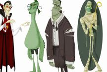 Character design. / Characters for animation