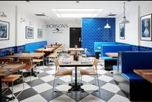 Hobson's Fish & Chips / Our design for Hobson's Fish & Chips, Bayswater, London.