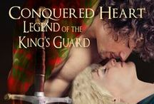Conquered Heart / Kerrigan, in desperation to find her lord and protector's son, seeks out the king's guard. All seems hopeless until she meets Graeme, whose kindness goes a long way to affecting her heart.   Graeme has a challenge before him – how to keep he and his friends from being executed for doing their duty, aiding the sweet lass in finding her charge, helping their king victor over England's army, and gaining a pardon for their involvement in the king's misdoings.