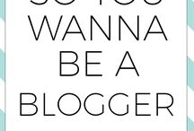 BUILDING A BLOG / Tips and tricks for building a successful blog.