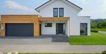 Satteldach Fertighäuser | KAMPA / Moderne Fertighäuser mit Satteldach von KAMPA mit vollwertigem Dachgeschoss. Mit energieeffizienter Bauweise und exzellentem Wohnkomfort.