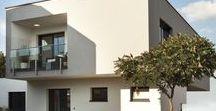 Flachdach Fertighäuser | KAMPA / Flachdachhäuser von KAMPA. Kubische Bauart mit puristischem Flachdach. Mit energieeffizienter Bauweise und exzellentem Wohnkomfort.