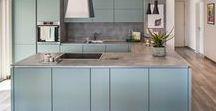 Küchen Ideen | KAMPA / Kiss the cook. Eine Küche mit gut organisiert sein und gleichzeitig schön aussehen. Wir haben Ideen für dich gesammelt.