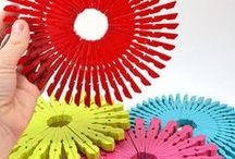 Crafts: Cool Crafty Ideas / Ideas to inspire!  Paper crafting, DIY, projects for kids and more! #diy #papercrafts #crafts