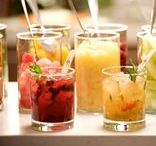 Cocktail Hour / Welcome your guests with a signature cocktail that represents you. There is no better way to get a party started than by serving a refreshing and delicious drink. Mixology is an art that we love!