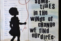Sometimes in the winds of change we find our direction <3 / Life, quotes, etc. / by Priscilla <3