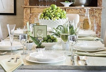 Table settings / by Clara Saenz Casal