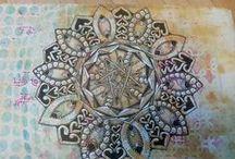 Mandalas / Mandalas to draw, paint, use as #Zentangle inspired art, mandala inspiration as well as ideas, tips, tutorials and templates.
