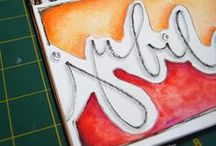 Art: Lettering & Calligraphy / Creative use and design with Lettering, Calligraphy, Fonts & Composition