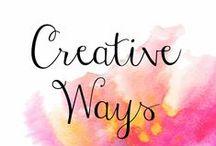 Art: Creative Prompts & Challenges / Miscellaneous Creative Art Prompts and Challenges
