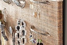 Organizing Ideas - Jewelry / Ideas I've got for organizing my stuff. Feel free to add anything you see that looks interesting! / by Cheryl Hughes