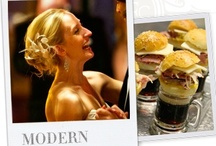 Modern Bride / The Modern Bride likes clean and crisp lines. Skip the frills and give your guests the wedding they anticipated. Keep the food simple and decor elegant.
