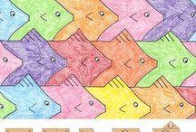 Art: Tesselations / Tesselation art and inspirations, projects