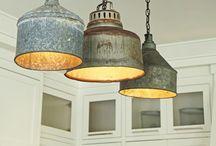 Home: Lighting / DIY Lighting and some illuminating ideas! #lighting #lamps #diy #homedecor