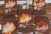 Holidays: Thanksgiving / Ideas for making Fall and Thanksgiving themed things! #recipes #diy #papercrafting #crafts #Thanksgiving