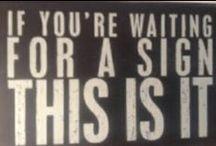 Signs I Like
