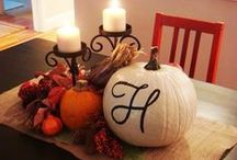 Halloween Costumes and Fall Decorations