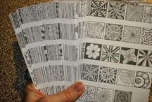 Zentangle Art: Great Online Resources, Tips & Tutorials / Favorite links to share with our Zentangle® students and fans, compiled by www.tanglevermont.com.