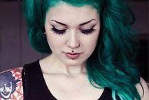 alter hair ego / by Hallie Hull
