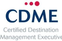 CDME Certification / Recognized by the DMO industry as its highest educational achievement, CDME is an advanced educational program for experieinced DMO professionals seeking career advancement.