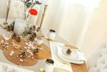 Table♥Scape / Beautiful way to setup your table...